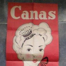Carteles Publicitarios: CANAS .. LA CARMELA. Lote 22052919