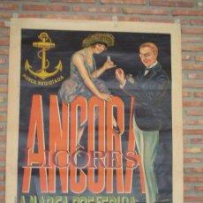 Carteles Publicitarios: LICORES ANCORA .PORTUGAL. Lote 26002605