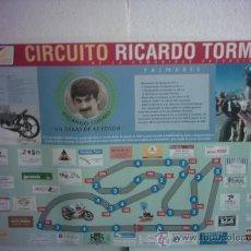 Carteles Publicitarios: CARTEL CIRCUITO RICARDO TORMO (CHESTE -VALENCIA). Lote 25783035