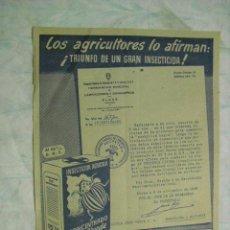 Carteles Publicitarios: CARTELITO DE CRUZ VERDE 1949. Lote 14458988