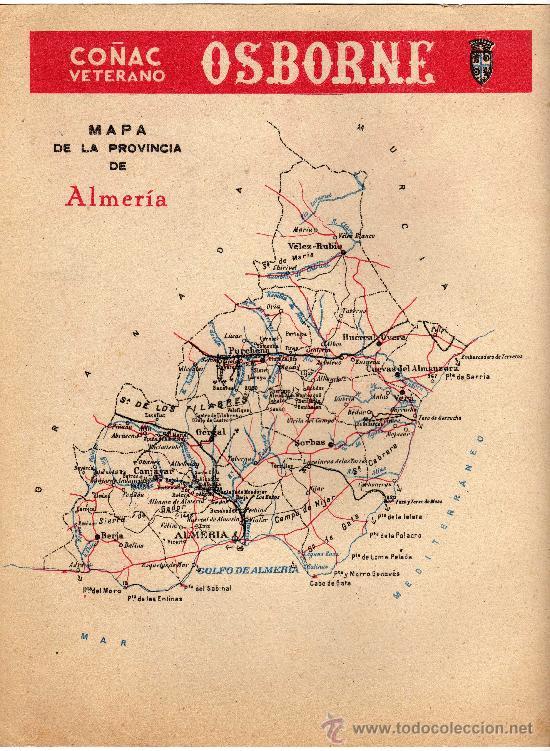 Carteles Publicitarios: almeria, cartelito publicitario de la guia telefonica 1954 - Foto 2 - 14513953