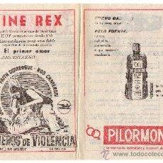 Affiches Publicitaires: CARTELITO PUBLICITARIO DE ALICANTE,ULTIMO DE LOS AÑOS 50-PRIMERO DE LOS 60. Lote 14530528