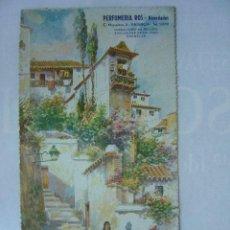 Carteles Publicitarios: PUBLICIDAD ANTIGUA - EN CARTON - PERFUMERIA ROS, VALENCIA. Lote 15360578