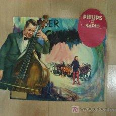 Carteles Publicitarios: CARTEL DE CARTON PUBLICITARIO BLISTER PHILIPS RADIO. Lote 16075961