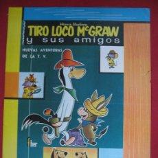 Carteles Publicitarios: TIRO LOCO MC GRAW - 40.5CM 30CM - 1963. Lote 19819875
