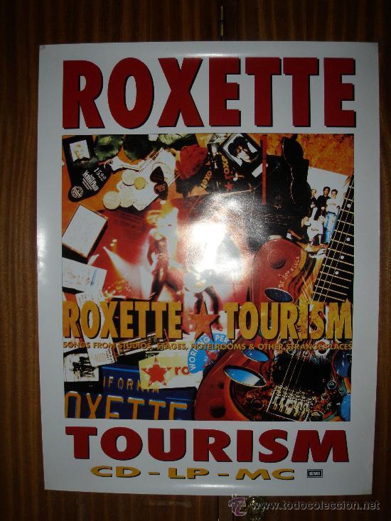 Carteles Publicitarios: ROXETTE : TOURISM : EMI : 69 X 52 CMS - Foto 2 - 26125778
