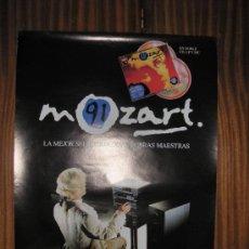 Carteles Publicitarios: MOZART 91 - SELECCIÓN OBRAS MAESTRAS - EMI - 67 X 48 CMS. Lote 26163167