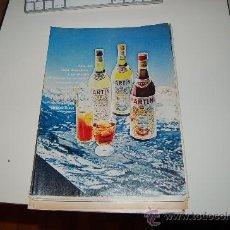 Carteles Publicitarios: HOJA PUBLICITARIA ALCOHÓLICA DE VERMOUTH MARTINI. 1968-70. IDEAL PARA ENMARCAR. Lote 20770789