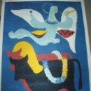 Carteles Publicitarios: GRAN CARTEL FERIA DE SAN ISIDRO MADRID 1954. Lote 28371598