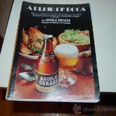 Carteles Publicitarios: HOJA PUBLICITARIA ALCOHÓLICA DE CERVEZA ÁGUILA DORADA. AÑOS 70. Lote 28818118