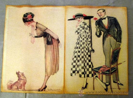 Antiguos carteles en parafina con motivos de mo comprar - Carteles publicitarios antiguos ...
