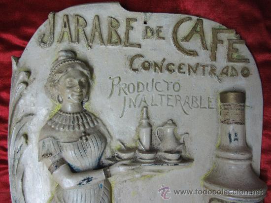 Carteles Publicitarios: Excepcional cartel en estuco acartonado en relieve / Modernista - Foto 3 - 30364513