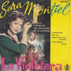 Carteles Publicitarios: DISPLAY PUBLICITARIO SARA MONTIEL LA VIOLETERA. Lote 32179157