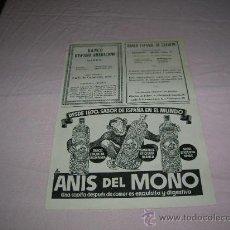 Carteles Publicitarios: HOJA DE REVISTA MUNDO AÑO 1943,VARIOS ANUNCIOS . Lote 32789236