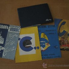 Carteles Publicitarios: JUEGO 4 CARTELES PUBLICITARIOS 21X30 COSTA CLUB CRUCEROS. Lote 32986713