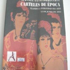 Carteles Publicitarios: CARTELES DE EPOCA - SUBASTA SOLER Y LLACH - JUNIO 2002. Lote 33371919