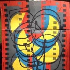 Carteles Publicitarios: CARTEL VIII FESTIVAL INTERNACIONAL DE CINE SAN SEBASTIAN . BORONAT. AÑO 1960. Lote 35504712