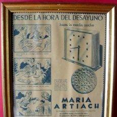 Carteles Publicitarios: MARÍA GALLETAS ARTIACH, ANTIGUA PUBLICIDAD DE LOS AÑOS 60. Lote 36316851