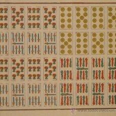 Carteles Publicitarios: CARTEL NAIPES LA HISPANO-AMERICANA. 56 X 50 CM. CA. 1930. Lote 37411800
