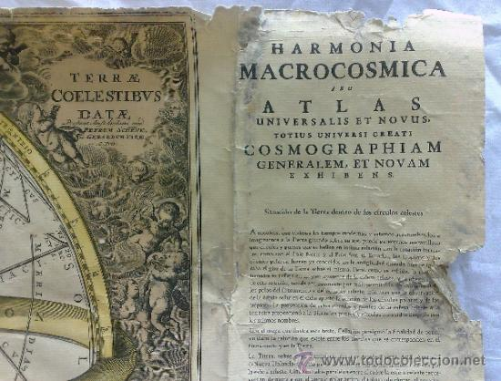 Carteles Publicitarios: HOECHST IBERICA, S.A, BARCELONA. GRAN CARTEL PUBLICITARIO MEDICAMENTO.-ARMONÍA MACROCOSMICA 1708. - Foto 4 - 37519992