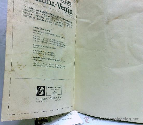 Carteles Publicitarios: HOECHST IBERICA, S.A, BARCELONA. GRAN CARTEL PUBLICITARIO MEDICAMENTO.-ARMONÍA MACROCOSMICA 1708. - Foto 11 - 37519992