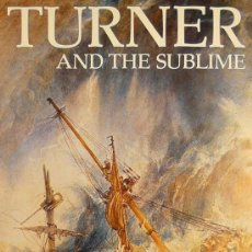 Carteles Publicitarios: CARTEL TURNER AND THE SUBLIME. Lote 37653238