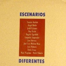 Carteles Publicitarios: CARTEL ESCENARIOS DIFERENTES. Lote 37689638