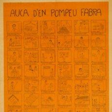 Carteles Publicitarios: CARTEL AUCA D'EN POMPEU FABRA. Lote 37782165