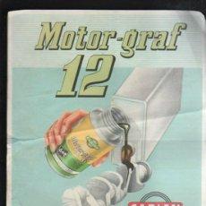 Carteles Publicitarios: CARTEL DE MOTOR GRAF 12. MEDIDAS: 27 X 21CM.. Lote 38368187