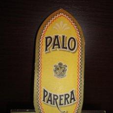 Carteles Publicitarios: DISPLAY PUBLICIDAD APERITIVO PALO PARERA. Lote 39439290
