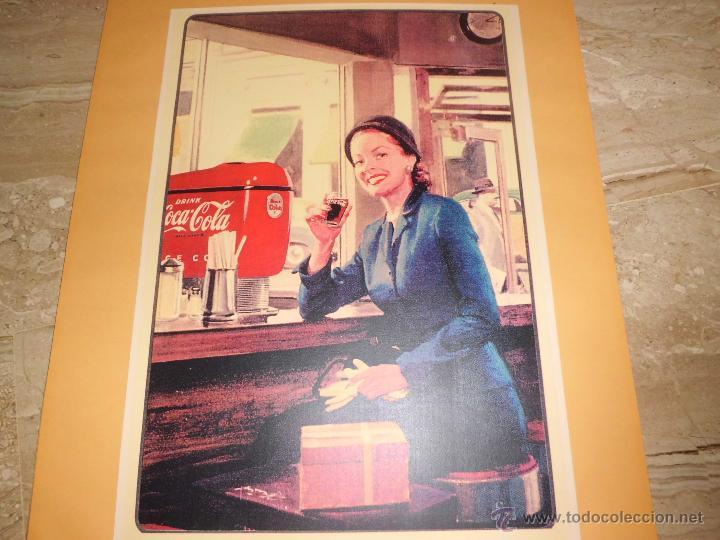 Carteles Publicitarios: lote de 8 carteles publicitarios 42x30 cm (osborne , anis asturiana etc)ver fotos - Foto 3 - 39790844