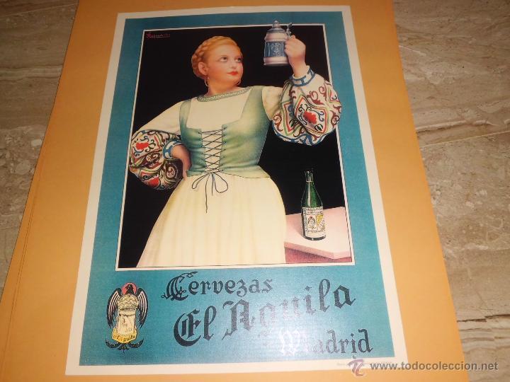 Carteles Publicitarios: lote de 8 carteles publicitarios 42x30 cm (osborne , anis asturiana etc)ver fotos - Foto 8 - 39790844