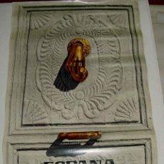 Carteles Publicitarios: ANTIGUO CARTEL CON PUBLICIDAD DE ESPAÑA - PUBLICACION DEL MINISTERIO DE INFORMACION Y TURISMO - MIDE. Lote 38259486