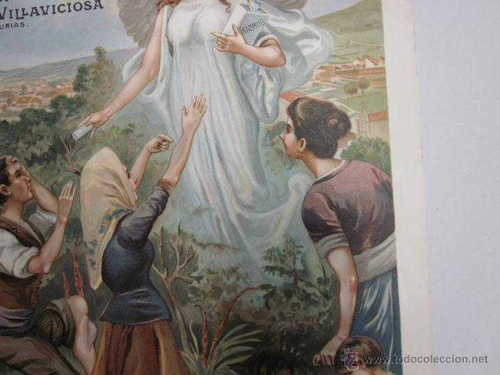 Carteles Publicitarios: CARTEL PUBLICITARIO - TRABMULL - FARMACIA - VILLAVICIOSA ASTURIAS - MIDE 43 X 63 CM. - Foto 16 - 52349082