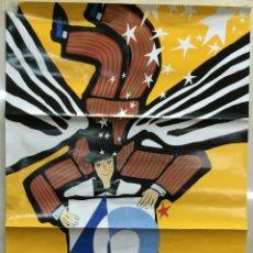 Carteles Publicitarios: CARTEL 40 FESTIVAL INTERNACIONAL DE CINE DE SAN SEBASTIAN 1992 - PATROCINADOR OFICIAL TVE. SAN SEBAS. Lote 42406380