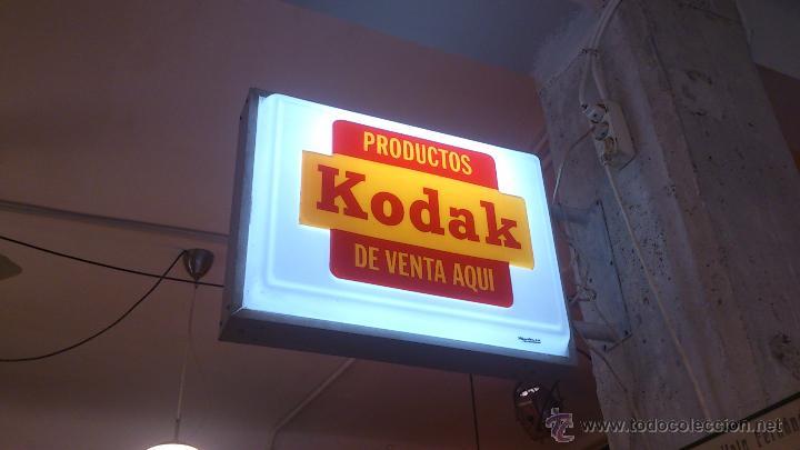 Cartel kodak luminoso comprar carteles antiguos publicitarios en todocoleccion 44725649 - Carteles publicitarios antiguos ...