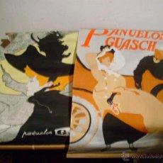 Carteles Publicitarios: 2 CARTELES PUBLICITARIOS DE PAÑUELOS GUASH,AÑOS 60,70.. Lote 43521060