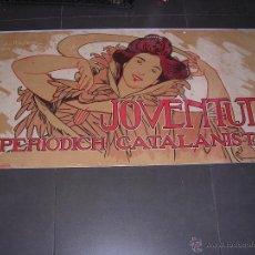 Carteles Publicitarios: (M) ANTIGUO CARTEL - JOVENTUT ,PERIODICH CATALANISTA ,A. DE RIQUER 1900 LIT.UTRILLO & RIALP S.C.. Lote 43910268
