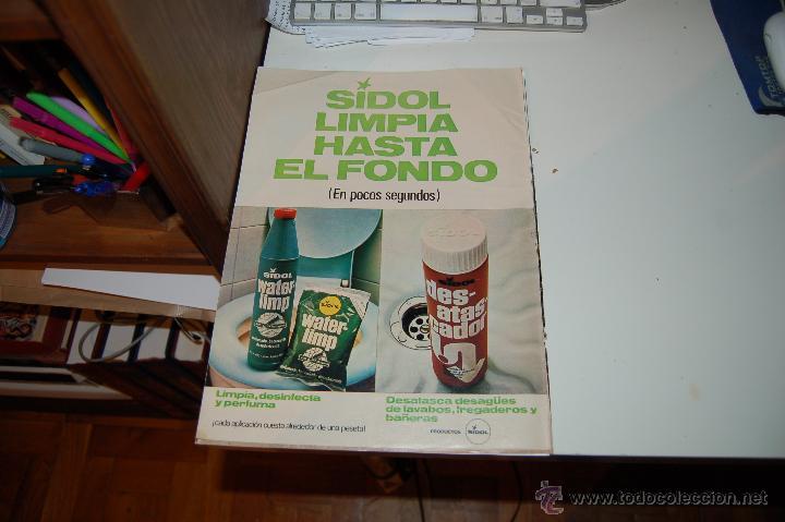 Hoja Publicitaria De Productos De Limpieza Sido Comprar Carteles