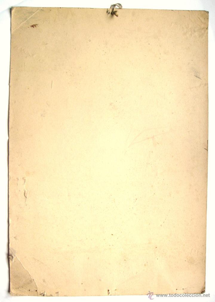 Carteles Publicitarios: CARTEL PUBLICIDAD PAPEL DE FUMAR GOL SUAVIZA EL TABACO. ALCOY ALICANTE AÑOS 40 - Foto 2 - 97875016