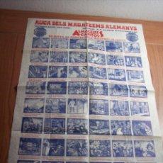 Carteles Publicitarios: AUCA DELS MAGATZEMS ALEMANYS (50 ANIVERSARIO 1922 /1972). Lote 47129038