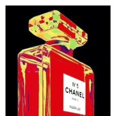 Carteles Publicitarios: CHANEL Nº 5. PARIS. PARFUM. LÁMINA CARTEL PUBLICITARIO. 45 X 32 CMS.. Lote 53233543