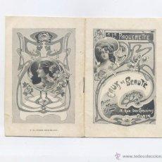 Affiches Publicitaires: ANTIGUO CATALOGO LA PAQUERETTE- MADAME DE MORA. Lote 47553237