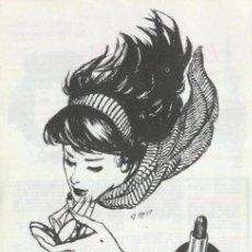 Carteles Publicitarios: ANUNCIO PUBLICITARIO PINTALABIOS **ROJO EMBRUJO** MYRURGIA (AÑO 1967). Lote 36398082