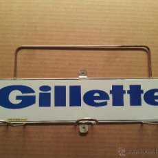 Carteles Publicitarios: ANTIGUO EXPOSITOR MAQUINILLAS GILLETTE. Lote 48882627