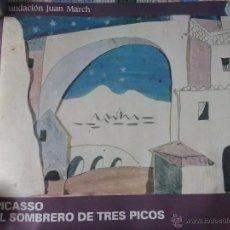 Carteles Publicitarios: CARTEL FUNDACIÓN JUAN MARCH QUE REPRESENTA EL SOMBRERO DE TRES PICOS DE PICASSO. Lote 49717058