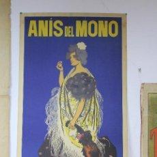 Carteles Publicitarios: ANIS DEL MONO RAMON CASAS ORIGINAL. Lote 49767513