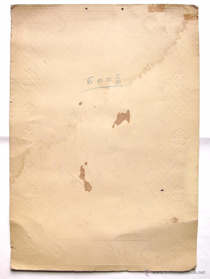 Carteles Publicitarios: CARTEL TROQUELADO PUBLICIDAD DE MANTECADAS DULCES Y CHOCOLATES EL MARAGATO ASTORGA LEON AÑOS 30 RARO - Foto 2 - 49938718