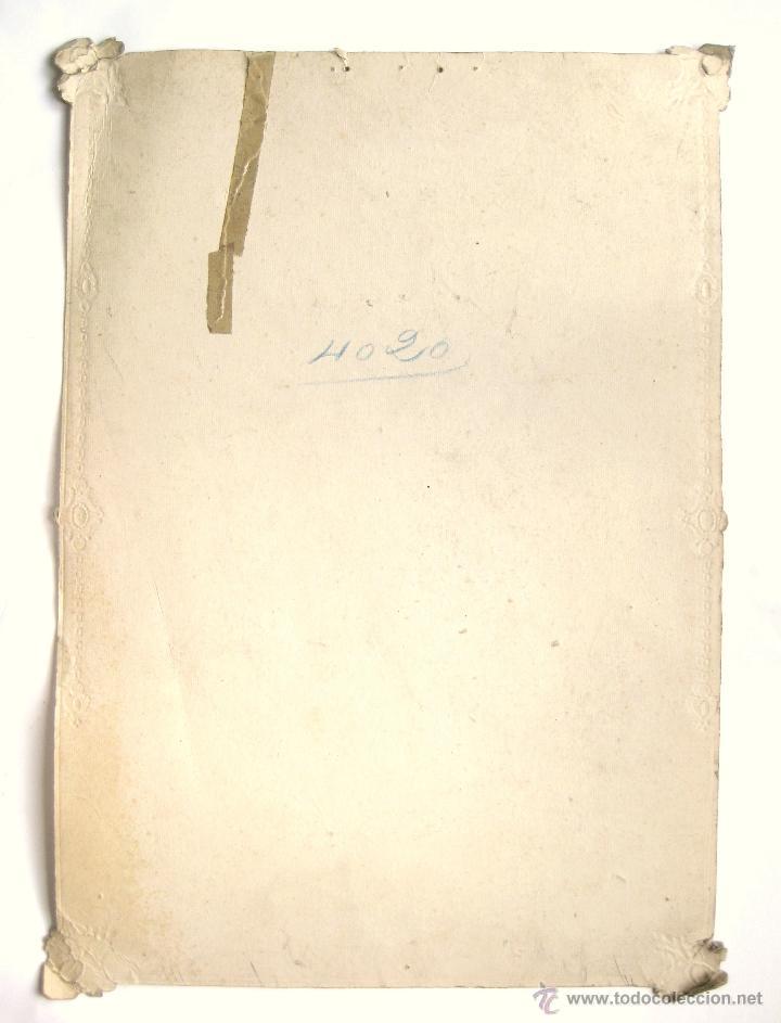 Carteles Publicitarios: CARTEL TROQUELADO PUBLICIDAD DE MANTECADAS DULCES Y CHOCOLATES EL MARAGATO ASTORGA LEON AÑOS 30 RARO - Foto 2 - 49938746