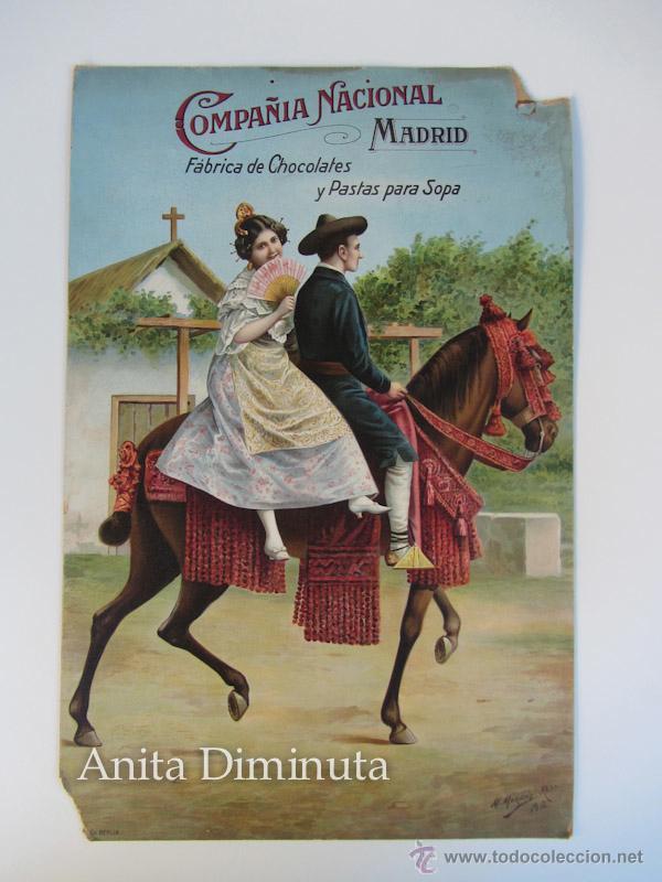 Antiguo cartel publicitario en carton serigrafi comprar carteles antiguos publicitarios en - Carteles publicitarios antiguos ...